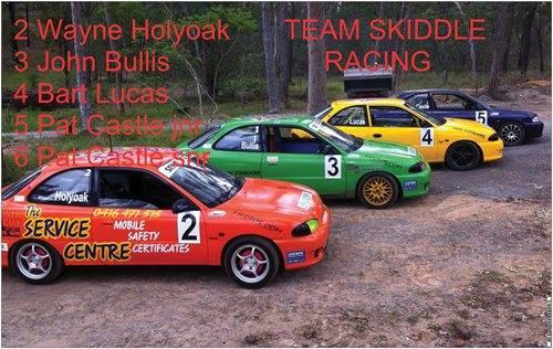 Team skiddles racing to debut two series x3 hyundai s at morgan park